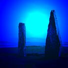 Blue Brodgar by kalaryder