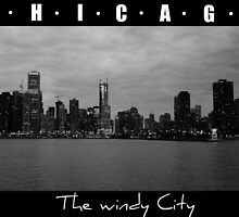 CHICAGO - The windy city in B&W by Ghelly
