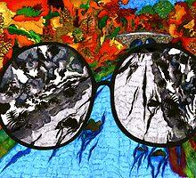 """""""Through Darkened Glass"""" by Bradley Shawn  Rabon"""
