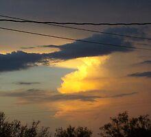 cloud on glass by gabbielizzie