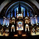 Notre Dame Basilica  by Angela E.L. Clements