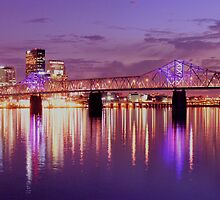 Louisville Kentucky Sunset by LizzieMorrison