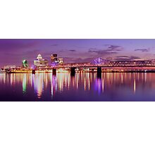 Louisville Kentucky Sunset Photographic Print