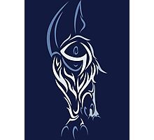 Tribal Absol Colored Photographic Print