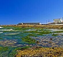Cowrie Hole to the baths by Liz Percival
