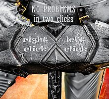 Medieval knight - No Problems In Two Clicks by luckypixel