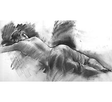 Resting Model Photographic Print