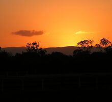 Sunset - St Lawrence Qld by Didee