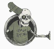 skate or die skull by suckerzone