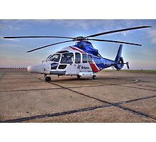 Bristow Norwich - EC155 B1 Helicopter Photographic Print