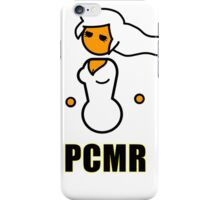 PCMR - Female Master Racer iPhone Case/Skin