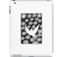 Flovers and pigeon iPad Case/Skin