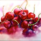  Cherries...Ripe by  Janis Zroback