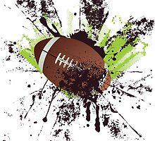 Grunge Rugby 8 by AnnArtshock