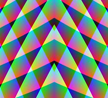 Triangular  Rainbow by Julie Shortridge