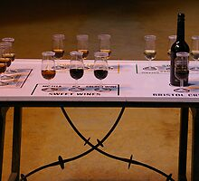 Sherry Tasting Table by Rebecca Silverman