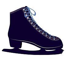 Ice skate by AnnArtshock