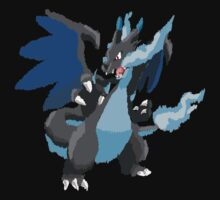 Kelly's Mega Charizard X (No outline) by eevilmurray