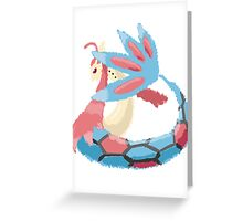 Kelly's Milotic (No outline) Greeting Card