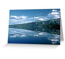 Reflection Kluane Lake - Yukon Territory Greeting Card