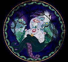 Ursula Stained Glass by MazukiArts