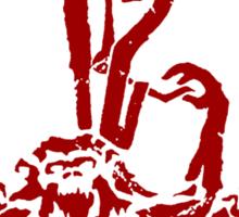 A Dozen Simians Sticker