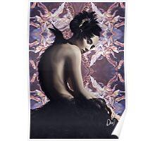 Baroque Swan Poster