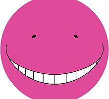 Korosensei Purple Round Face by Raieruu