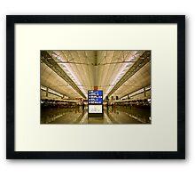Hong Kong International Framed Print