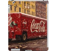 A Big Red Truck In The Barrio iPad Case/Skin