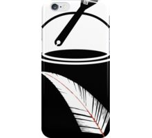 Feather Paint iPhone Case/Skin
