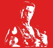 Arnold Schwarzenegger Commando No Text by Marcel Stawiczny