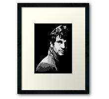 Will Graham - NBC Hannibal Framed Print