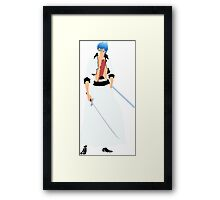Bleach Grimmjow Framed Print