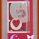 I Love You Book Mark2 by LadyRm