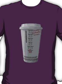 Lonely Starbucks Lovers Taylor Swift Blank Space T-Shirt