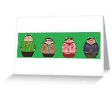 Big Bang Totoro Greeting Card