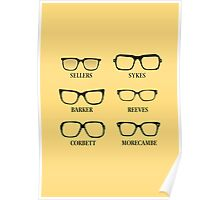 Funny Glasses Poster