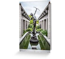 Young Diana Greeting Card
