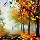 The Calm Of The Forest — Buy Now Link - www.etsy.com/listing/227335154 by Leonid  Afremov