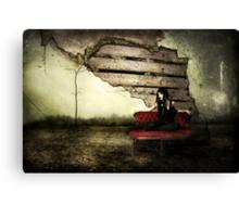 Torn Through Reality Canvas Print