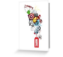 marvel Greeting Card