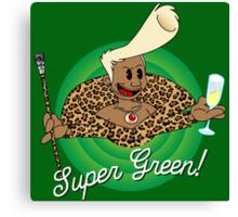 Super Green! Canvas Print