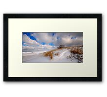 Winter Comes Softly Framed Print