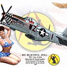 Big Beautiful Doll - P-51D Mustang by A. Hermann