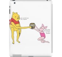 bee syrup iPad Case/Skin