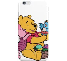 Pooh and Piglet at Easter iPhone Case/Skin