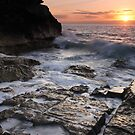 Rocky Coast by Lucy Hollis