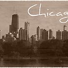 CHICAGO retro-postcard by Ghelly