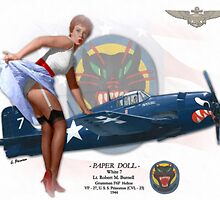 Paper Doll - F6F Hellcat by A. Hermann